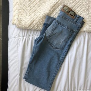 Cheap Monday custom distressed denim